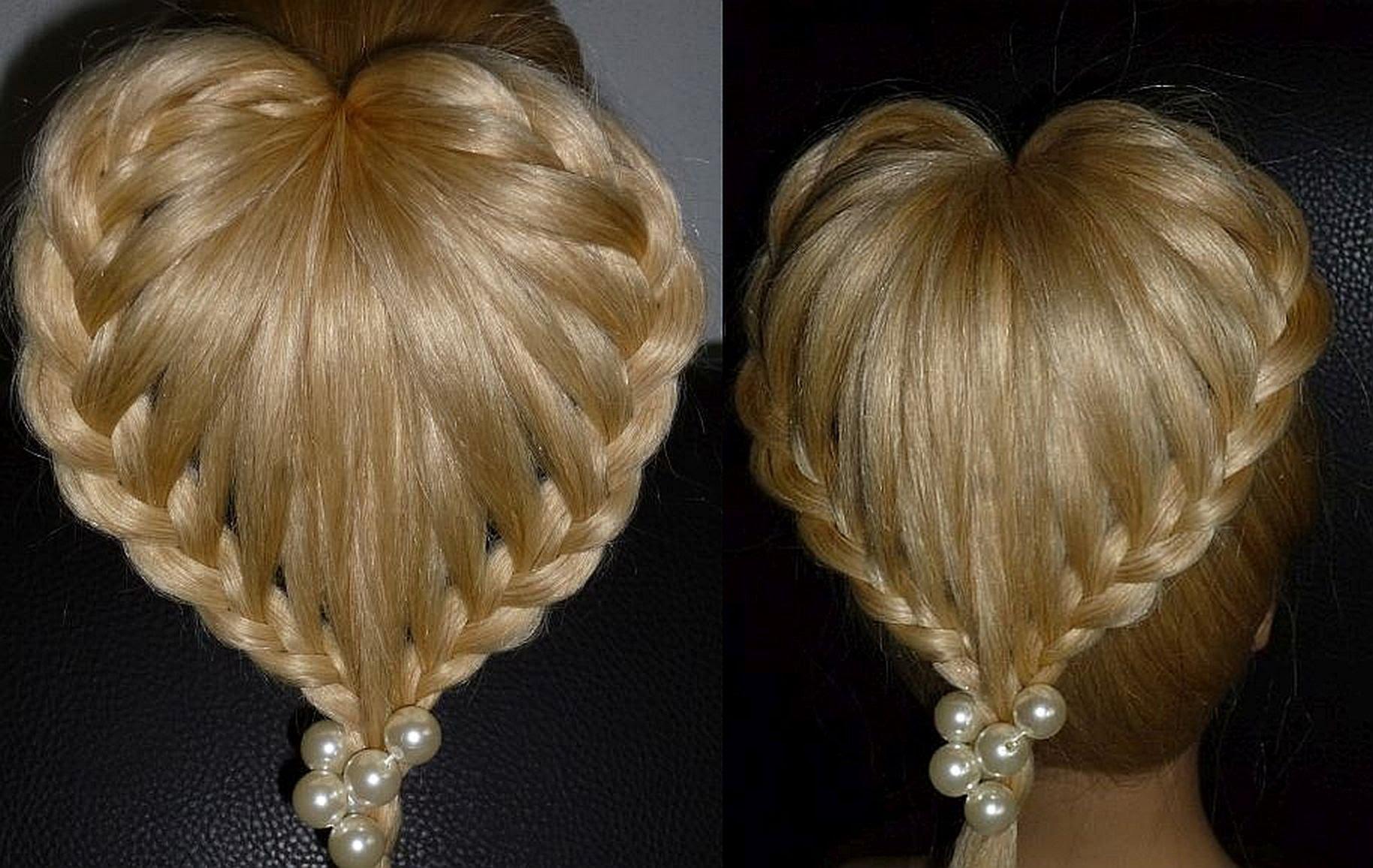 Деловые прически для длинных волос своими руками
