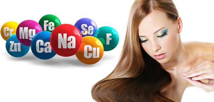 минералы для волос