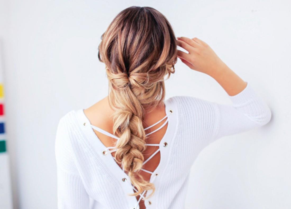 Как заплести косу-твист