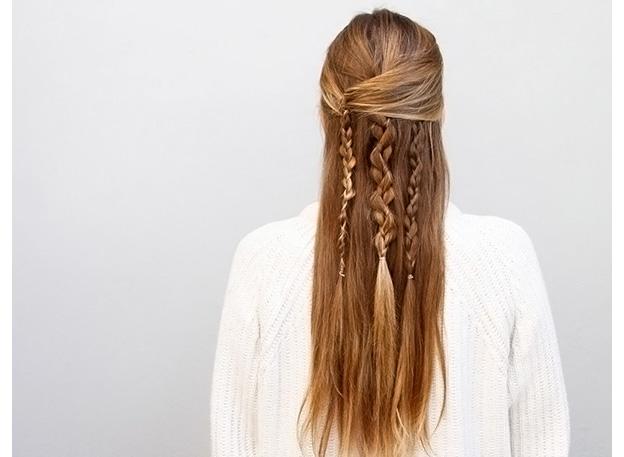 Как плести бохо косы