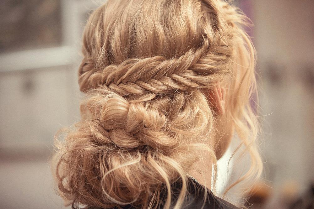 Как плести косу ободок