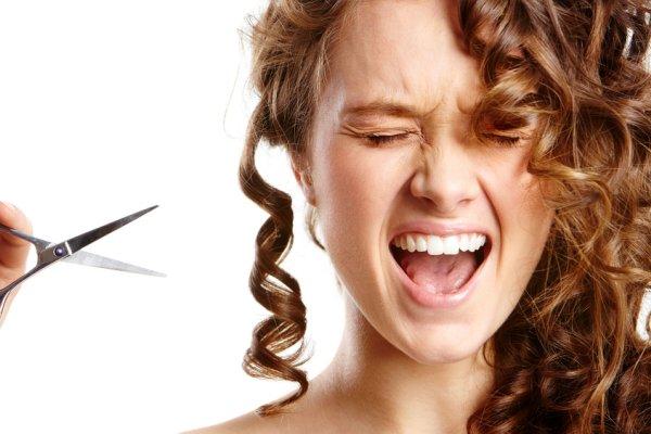 Как стричь вьющиеся волосы
