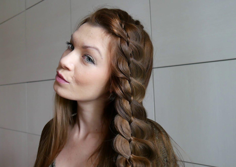 Косы на длинные волосы своими руками