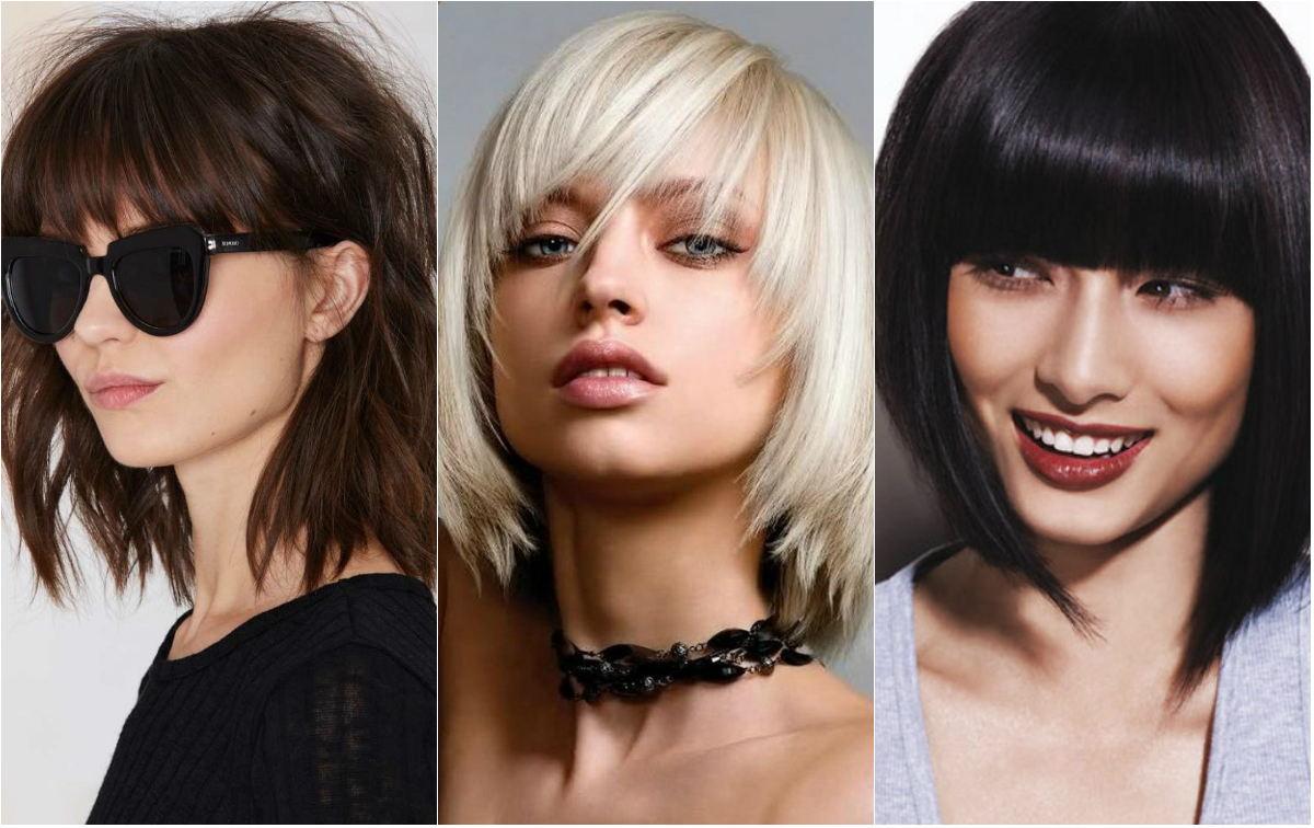 Эти модные прически с челкой – какие бывают челки на короткие, длинные и средние волосы