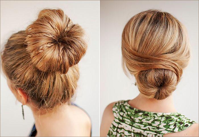 Пучок из волос