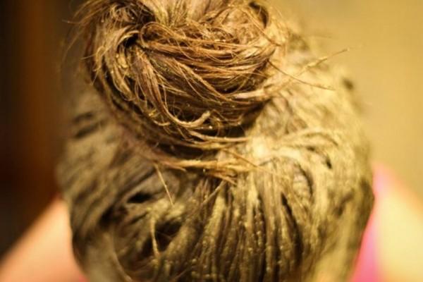 Как смыть хну с волос быстро
