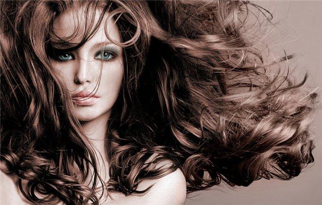 Роскошные локоны без вреда для волос
