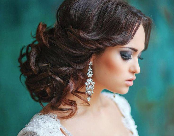 Свадебные прически 2018