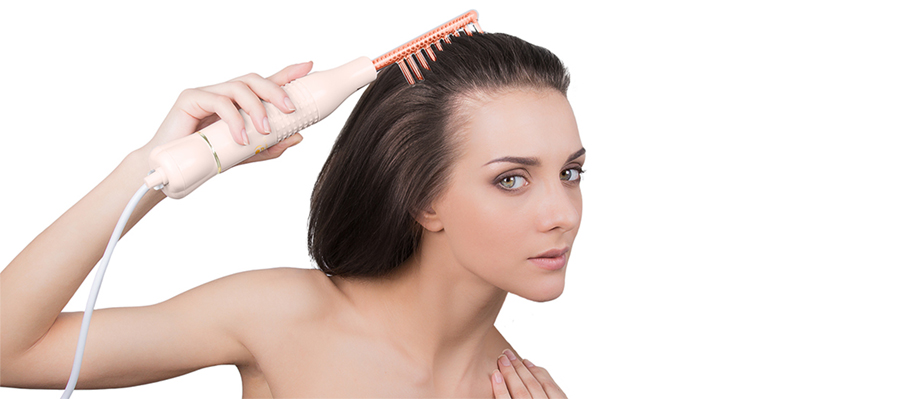 Дарсонвализация волос