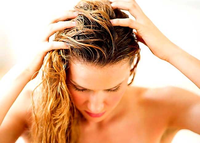 Домашний пилинг для кожи головы