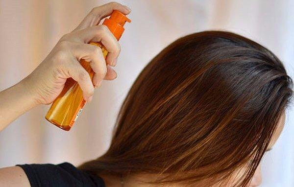 домашний спрей для роста волос