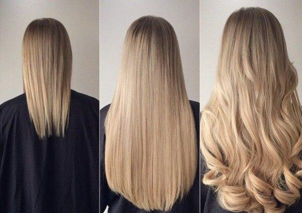 Как правильно ухаживать за нарощенными волосами