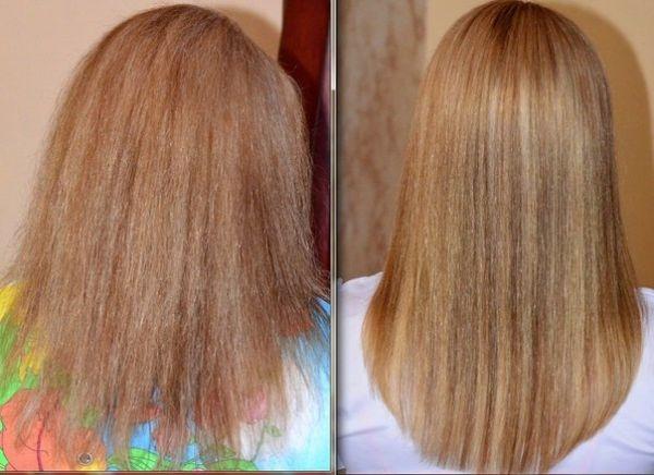 Сильно сожженные волосы